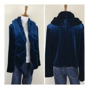 💙YFB quilted velvet jacket